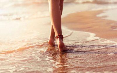 Andar descalzo facilita el proceso de reajuste energético